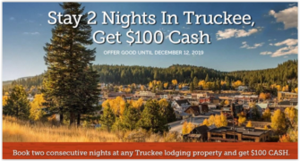 We Love Truckee! Special Offer.